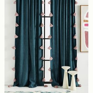 Anthropologie Mindra 2 curtain panels